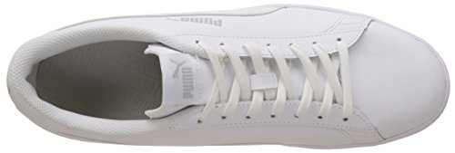 puma L Mixte V2 White Puma Blanc Smash Baskets Basses Adulte White puma wq8xEgf