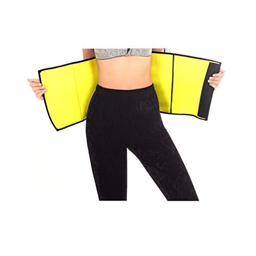 New Body Shapers Belt Slimming Neoprene Belly Waist Trainer Modeling Strap Corsets Girdles Cincher Plus Size S-6XL Black M