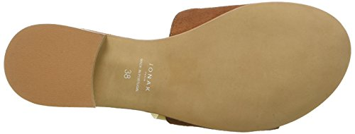 JONAK Women's 2982 Open Toe Sandals Brown (Cognac 004) discount with credit card visit cheap online m4tQQc4A