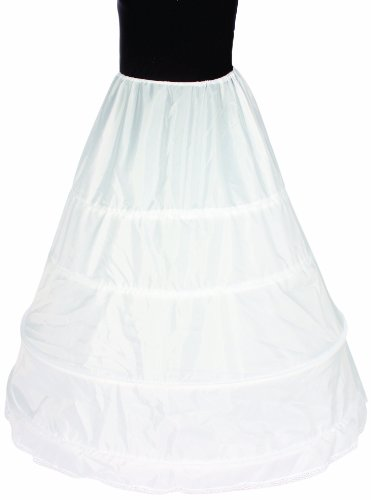 [Alexanders Costumes Adjustable Hoop Slip, White, One Size] (Southern Belle Costumes Adult)