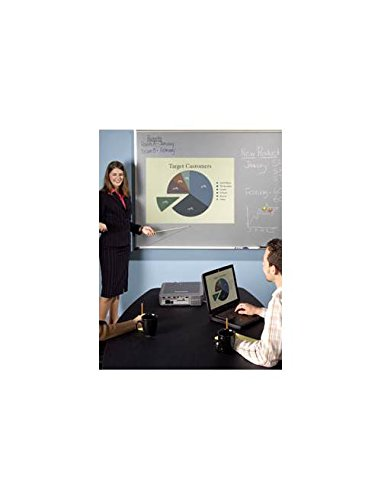 Magnetic Porcelain Marker Board w Projection Surface (33.75 in. x 48 in. Aluminum Trim) by Best-Rite