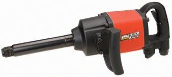 """Earthquake 1"""" Professional Air Impact Wrench with 6"""" Anvil"""