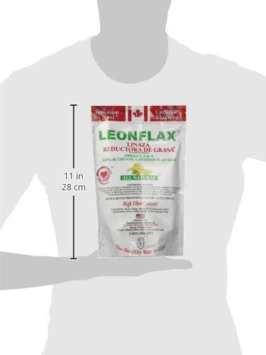 Amazon.com: Leonflax Canadian Flaxseed Plus Fat Reducer 18 Oz. 2-PACK: Health & Personal Care