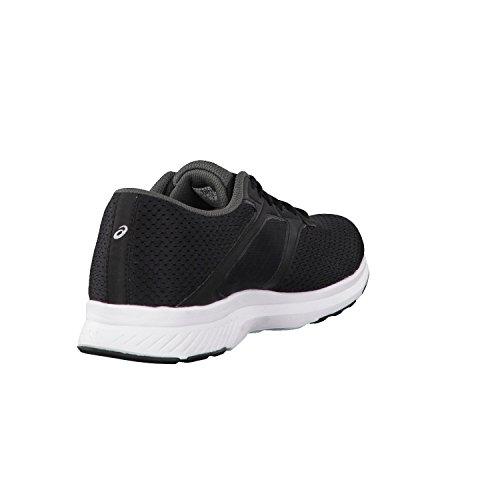 Asics Damen Laufschuhe Fuzor T6H9N Black/White/Dark Steel 36