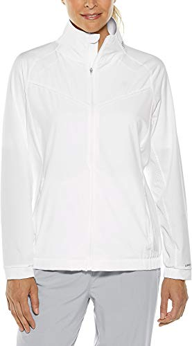 Coolibar UPF 50+ Women's Sprinter Sport Jacket - Sun Protective (X-Small- White) ()