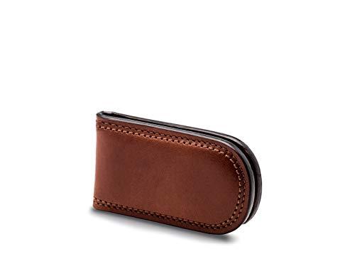 Leather Briefs Bosca - Bosca Men's Dolce Collection Money Clip (Dark Brown)