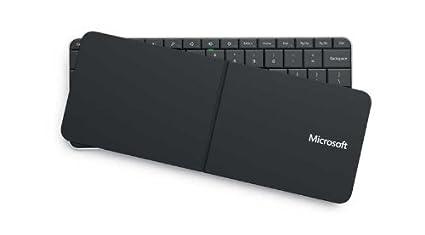 Microsoft Wedge Mobile Bluetooth AZERTY Negro teclado para móvil - Teclados para móviles (Negro,