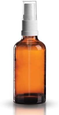 5 x ámbar Botellas De Vidrio pulverizador 100 ml (3.5oz) con ...