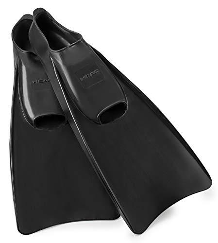 Mares Italian Collection Premium Corda Rubber Full Foot Swim Snorkeling Fin - Soft Orthopedic Foot Pockets Snorkel Flippers (Black, US Mens: 9/11 - US Womens: - Pocket Foot Full
