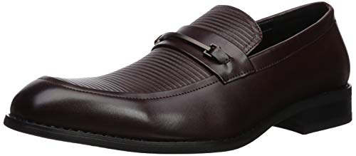 Unlisted by Kenneth Cole Men's Voyage Loafer B, Mahogany 12 M US