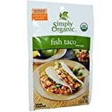 Simply Organic - Simply Organic Fish Taco Seasoning (12x1.13Oz)