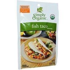 Simply Organic - Simply Organic Fish Taco Seasoning (12x1.13Oz) by Simply Organic