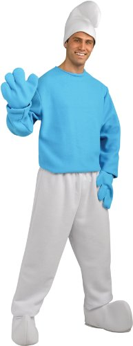 SMURFS DLXE SMURF ADULT XL (Papa Smurf Costumes)