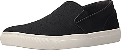 Calvin Klein Phoenix Men's Canvas Slip On Sneakers Shoes