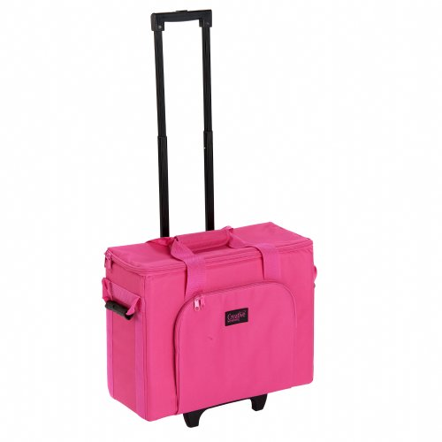 Creative Notions Sewing Machine Trolley in Pink by Creative Notions