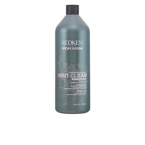 Mint Clean Shampoo Men Shampoo by Redken, 33.8 Ounce