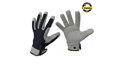 Metolius Belay Slave Climbing Glove - Gray/Black Large (Belay Glove)