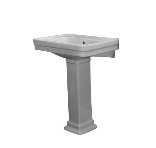 Barclay Sussex Bisque Complete Pedestal Sink 3-664BQ