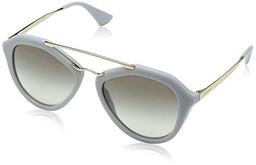 Prada PR12QS TV30A7 Women's Cinema, Opal Matte, Gray Gradient 54mm - Sunglasses Prada Wrap