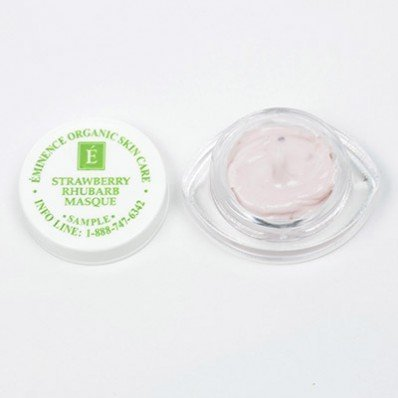 Eminence Sample Strawberry Rhubarb Masque Sample Set of 6 Travel Size by N|A