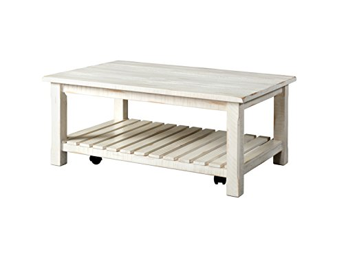 Martin Svensson Home 890223 Coffee Table, Antique White