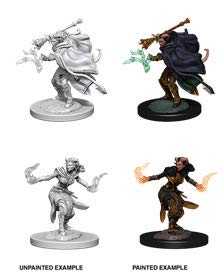 (D&d Nolzur's Marvelous Miniatures - Female Tiefling Warlock)