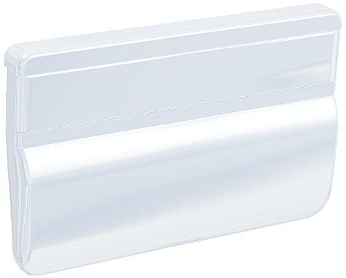 reinwei/ß RAL 9010 70x50x12 Bayram/® Balkont/ürgriff eckig f/ür den Au/ßenbereich