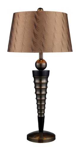 Dimond D1738 Laurie Table Lamp, Dunbrook and Dark Wood