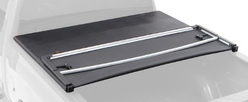Bestop 16210-01 EZ Fold Truck Tonneau Cover for Chevy Silverado/GMC Sierra Crew Cab, 8′ Bed, w/o bed management system, 2007-2013