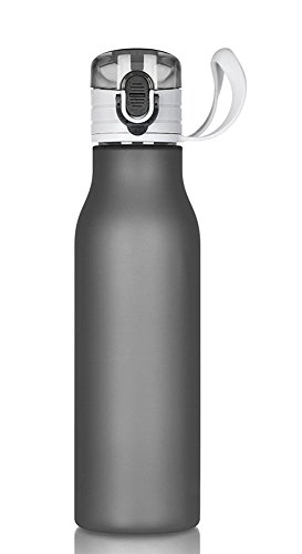 1-x-Frosted-Plastic-Flask-Cycling-Bottle-Sport-Bottle-for-Mountaineering-Cycling-Hiking-Camping-Fishing-Traveling