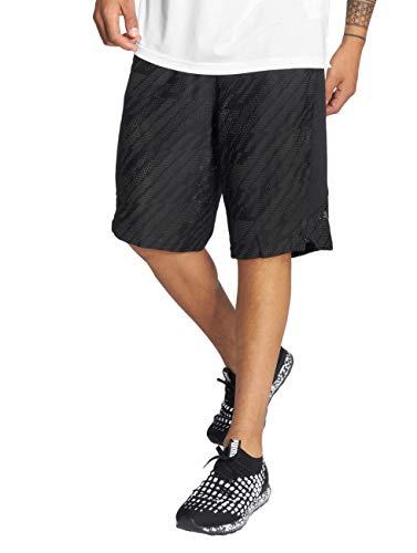 Gate Knit Shorts 10` Puma black Noir Homme Vent iron Sx8Bw6