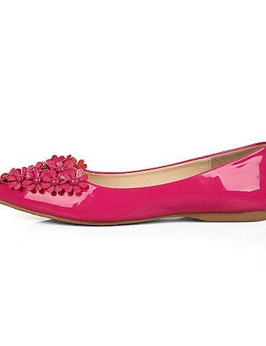 de Beige punta uk3 eu35 talón Toe vestido Ballerina negro cerrado PDX zapatos plano Toe de Flats cn34 mujer almond us5 qwA46E0