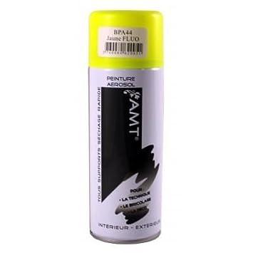 Bombe De Peinture Arosol Jaune Fluo AmazonFr Bricolage