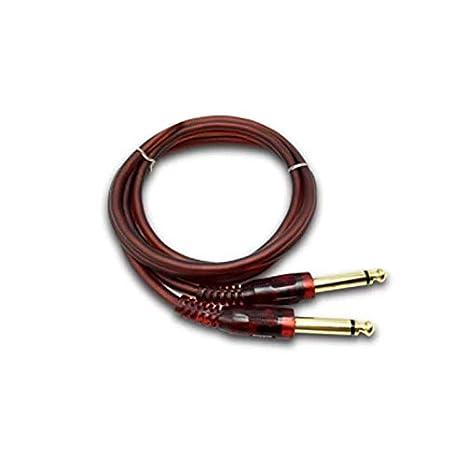 Carriea - Cable para Instrumentos de Guitarra eléctrica (1,5 m ...