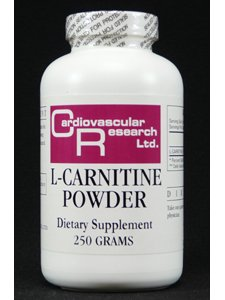 Ecological Formulas L-Carnitine Powder, 250 Gram by Ecological Formulas