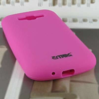 EMPIRE AT&T Samsung Focus 2 I667 Silicone Skin Case Tasche Hülle Cover (Hot Pink Rosa)