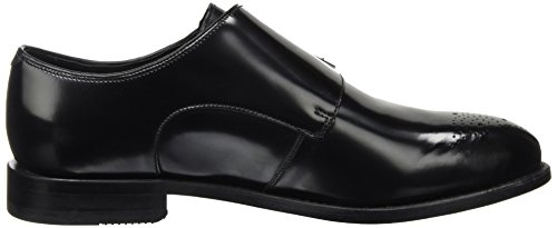black Negro Gilbert Para Hombre Ellis Clarks Leather Mocasines Y74Bw