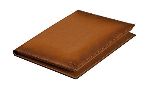 Sena Premium Leather Burnished Portfolio Case for iPad Air 2 - Tan
