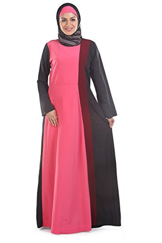 Momin Libas Multicolor Abaya Dress-X-Large