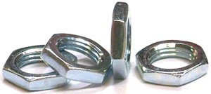 1/8-27 X 1/8 (9/16 A/F) Hex Panel Nuts / Steel / Zinc / 2,000 Pc. Carton by Fastener Superstore