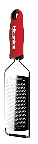 Microplane Gourmet Series Fine Grater, 14-Inch, Red ()