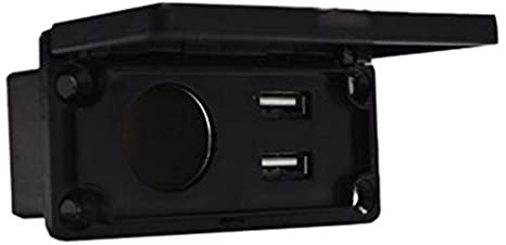 Madjax Universal 12V Charging Center with Outlet and USB Port for Most on