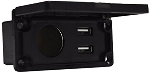 Madjax Universal 12V Charging Center with Outlet and USB Port for Most Golf Cart - Outlet Port Gulf
