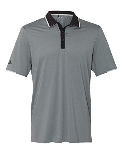 adidas Climacool Performance Colorblock Sport Shirt (A166) -Vista Grey -2XL