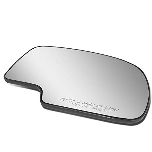 Passenger/Right Side Door Rear View Mirror Glass Lens Replacement for 2000-2006 Silverado/Tahoe/Sierra/Yukon ()