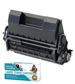 Ink Now Premium Compatible Black Toner for Oki-Okidata B6200, B6200N, B6250, B6250DN, B6250N, B6300, B6300DN, B6300N Printers, OEM Part Number 52114501 Page Yield 10000