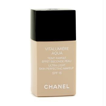Makeup - Chanel - Vitalumiere Aqua Ultra Light Skin Perfecting Make Up SFP 15 - # 22 Beige Rose 30ml/1oz