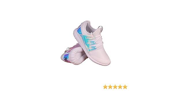 adidas AQ6281 Grade School Tubular Radial K White//Silver//White