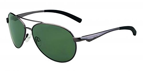 - Bolle Cassis Sunglasses, Shiny Gun/Polarized Axis Oleo AF