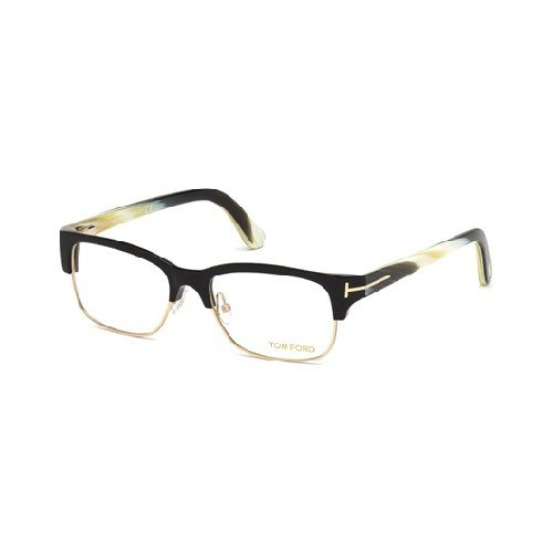 TOM FORD Eyeglasses FT5307 001 Shiny Black, ()